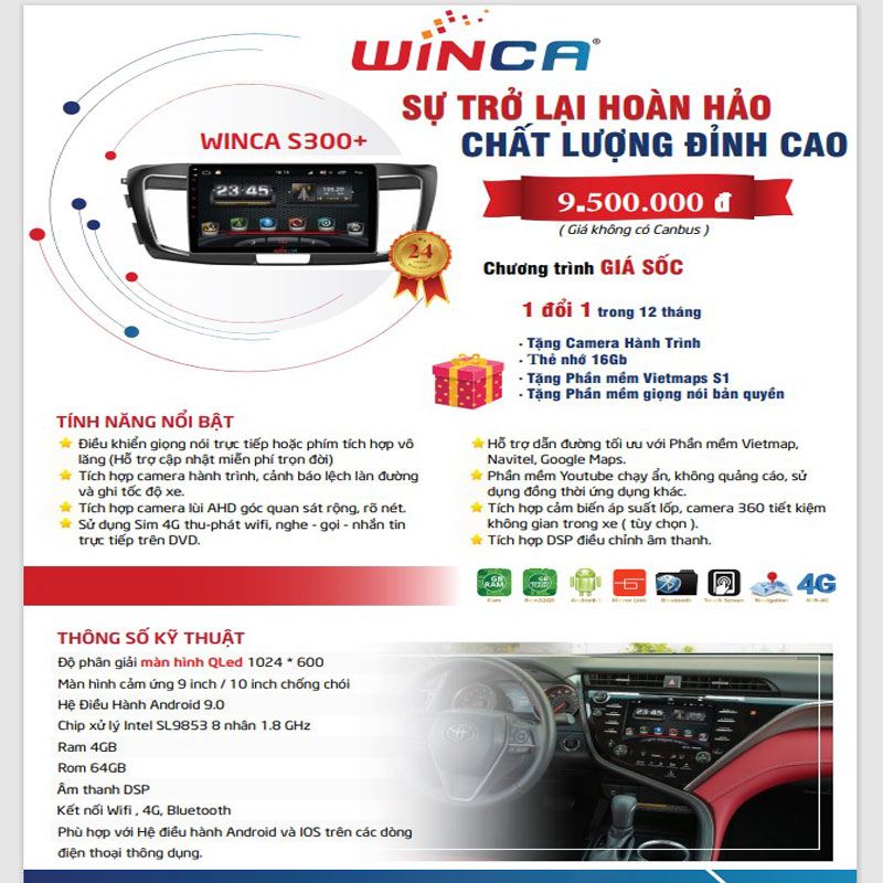 dvd android winca s300